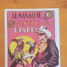 Tebeos: ALMANAQUE EL JINETE DEL DIABLO 1947 - REEDICION, FACSIMIL (8L). Lote 289819873