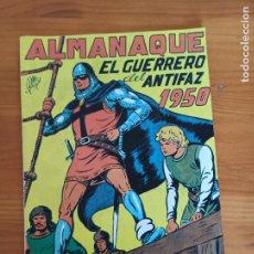 Tebeos: ALMANAQUE EL GUERRERO DEL ANTIFAZ 1950 - REEDICION, FACSIMIL (M). Lote 289822608