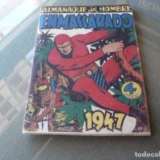 Tebeos: EL HOMBRE ENMASCARADO ALMANAQUE 1947. Lote 289884363