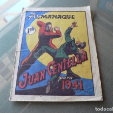 Tebeos: ALMANAQUE DE JUAN CENTELLA 1941. Lote 289884628