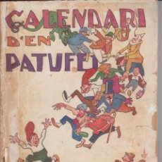 Tebeos: CALENDARI D'EN PATUFET 1927. Lote 292558383