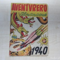 Tebeos: ALMANAQUE AVENTURERO 1940 ED. HISPANO AMERICANAS. Lote 292581758