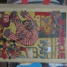 Tebeos: HIPO FIFÍ Y MONITO. ALMANAQUE DE LA BIBLIOTECA ESPECIAL PARA NIÑOS 1945 ORIGINAL. Lote 293484178