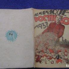 Tebeos: ALMANAQUE POCHOLO PARA 1937 VER FOTOS Y DESCRIPCION CJ 3 ANDREOTTIS. Lote 295355358