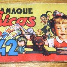 Tebeos: MIS CHICAS. ALMANAQUE 1942. C. GIL. (100 PÁGINAS), CON RECORTABLE DE NACIMIENTO, BELEN, MIDE 21,5 X. Lote 295412373