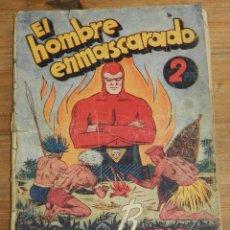 Tebeos: EXTRAORDINARIO DE REYES EL HOMBRE ENMASCARADO - EDITORIAL HISPANO AMERICANA - 2 PTS - LOMO CON DESPE. Lote 295417568