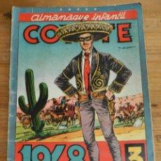 Tebeos: ALMANAQUE COYOTE 1948 (ORIGINAL CLIPER), MIDE 26 X 18 CMS.. Lote 295418333