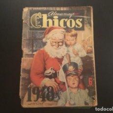 Tebeos: COMIC ALMANAQUE CHICOS 1948. Lote 295527843
