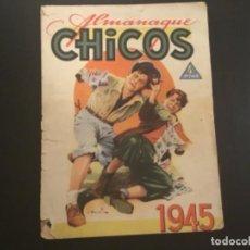 Tebeos: COMIC ALMANAQUE CHICOS 1945. Lote 295528743