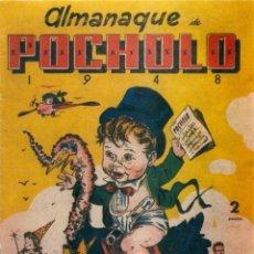 Tebeos: ALMANAQUE POCHOLO 1948 REEDICION. CONTRAPORTADA DE OPISSO. Lote 295909753