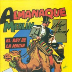 Tebeos: ALMANAQUE MERLIN 1944 REEDICION.. Lote 295910133