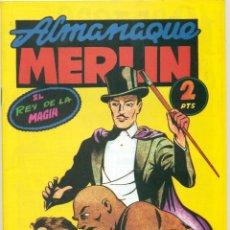 Tebeos: ALMANAQUE MERLIN 1945 REEDICION.. Lote 295910263