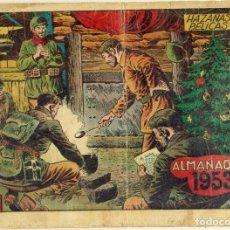Tebeos: ALMANAQUE HAZAÑAS BELICAS 1953 ORIGINAL. Lote 295910593