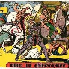 Tebeos: AVENTURAS DE DAVY CROCKETT ,1,50 PTS ,Nº 15 , ODIO DE CHEROQUEE T228. Lote 26370800