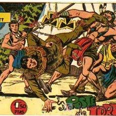Tebeos: AVENTURAS DE DAVY CROCKETT ,1,50 PTS ,Nº 14 , EN EL POSTE DE TORTURA T229. Lote 25712413