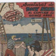 Tebeos: DICK SAND ORIGINAL Nº 3 FERMA 1955 VICENTE FARRES. Lote 8113364