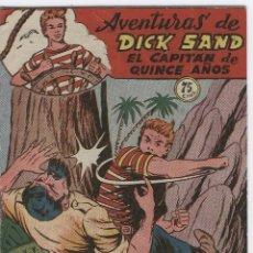 Tebeos: DICK SAND Nº 9 FERMA 1955 VICENTE FARRES, ESCELENTE ESTADO. Lote 8573648
