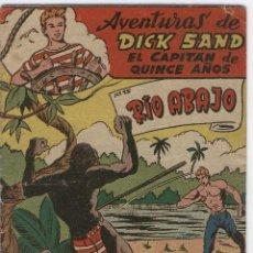 Tebeos: DICK SAND Nº 15 FERMA 1955 VICENTE FARRES - ORIGINAL. Lote 8357889