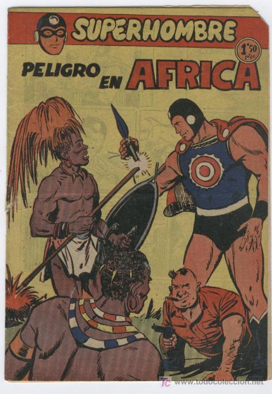 SUPERHOMBRE Nº 39 , , EDI. FERMA 1956 (Tebeos y Comics - Ferma - Otros)