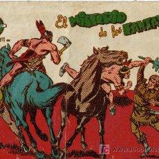 Tebeos: EL PEQUEÑO TRAMPERO SERIE DAVID CROQUER (FERMA) ORIGINAL 1958 Nº. 19. Lote 26268124