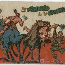 Tebeos: DAVY CROCKETT DE FERMA,1959, ORIGINAL Nº 19, BIEN Y DIFICIL, POR MARTINEZ OSETE. Lote 8219519