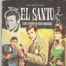 Tebeos: EL SANTO - HAN ROBADO UN MILLON DE LIBRAS *****NUM 3 ***EDI FERMA 1965. Lote 19137409