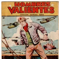 Tebeos: TOMMY BATALLA, HOMBRES VALIENTES FERMA , 7 EJEMPLARES,. Lote 22486061