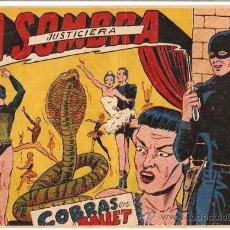 Tebeos: LA SOMBRA JUSTICIERA Nº 15 -- FERMA -- ORIGINAL 1956- LEER. Lote 19050771