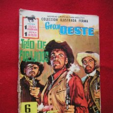 Tebeos: GRAN OESTE (FERMA) Nº 162 TRIO DE FORAGIDOS AÑO 1962 . Lote 8506066