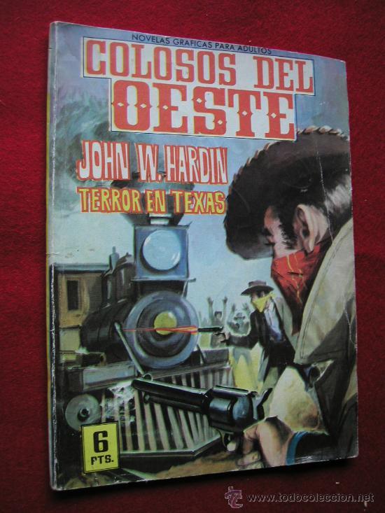 COLOSOS DEL OESTE ED. FERMA Nº 8 TERROR EN TEXAS 1964 ¡¡¡¡ NUMERO BAJO !!!! (Tebeos y Comics - Ferma - Colosos de Oeste)
