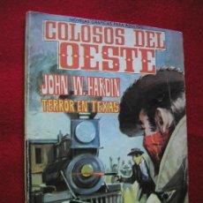 Tebeos: COLOSOS DEL OESTE ED. FERMA Nº 8 TERROR EN TEXAS 1964 ¡¡¡¡ NUMERO BAJO !!!!. Lote 24358629