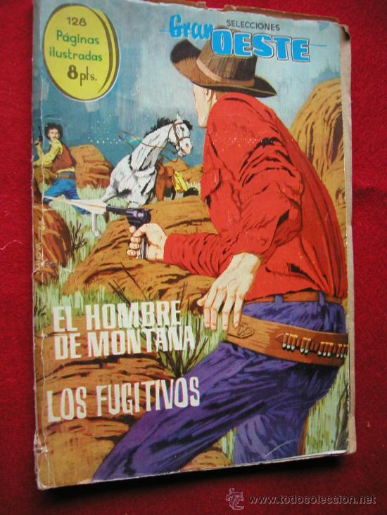 GRAN OESTE (FERMA) Nº 5 EL HOMBRE DE MONTANA Y LOS FUGITIVOS AÑO 1963 ¡ NUMERO BAJO !! EXTRA 128 PAG (Tebeos y Comics - Ferma - Gran Oeste)