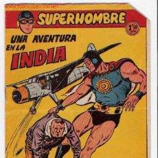 Tebeos: SUPERHOMBRE Nº 23 ORIGINAL - FERMA 1957. Lote 23900554
