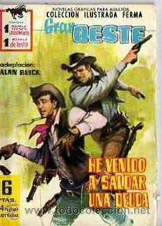 GRAN OESTE DE FERMA Nº 179 (Tebeos y Comics - Ferma - Gran Oeste)