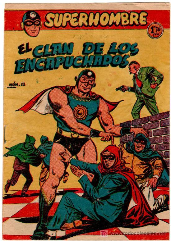 SUPERHOMBRE Nº 12 (Tebeos y Comics - Ferma - Otros)