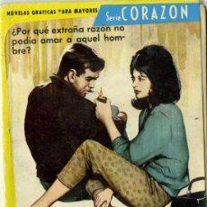 Tebeos: SERIE CORAZÓN - Nº 172 - EDITORIAL FERMA 1962. Lote 13825391