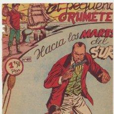 Tebeos: EL PEQUEÑO GRUMETE Nº 10. FERMA 1957.. Lote 25494638