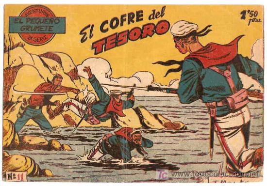 EL PEQUEÑO GRUMETE 2ª - SEGUNDA Nº 11 -- ORIGINAL FERMA 1958- DIFICIL (Tebeos y Comics - Ferma - Otros)