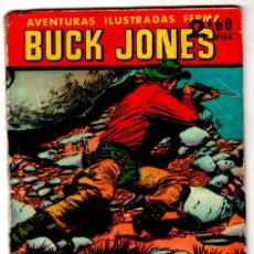 Tebeos: AVENTURAS ILUSTRADAS FERMA Nº 37,BUCK JONES, 6A PAGINAS,1958, VER PÁGINAS, COLECCION ILUSTRADA FERMA. Lote 17205696