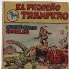 Tebeos: EL PEQUEÑO TRAMPERO Nº 11. FERMA 1957.. Lote 17528098
