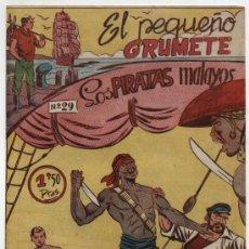 Tebeos: EL PEQUEÑO GRUMETE Nº 29. FERMA 1957.. Lote 17528199