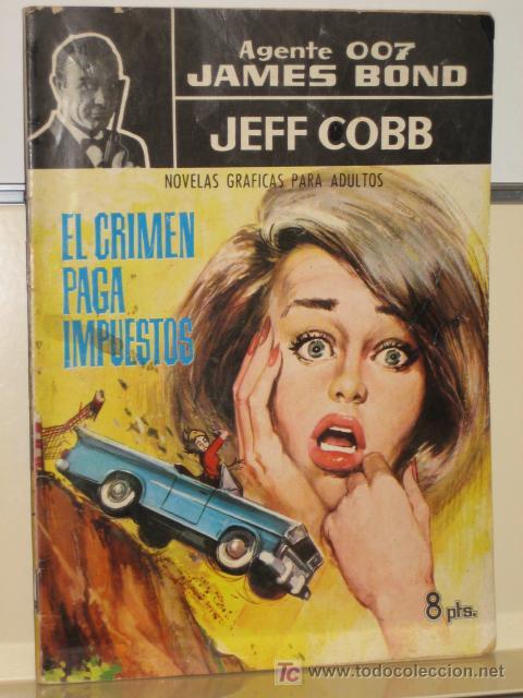 AGENTE 007 JAMES BOND - JEFF COBB - Nº 4 - EDITORIAL FERMA (Tebeos y Comics - Ferma - Otros)