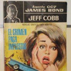 Tebeos: AGENTE 007 JAMES BOND - JEFF COBB - Nº 4 - EDITORIAL FERMA. Lote 25141871