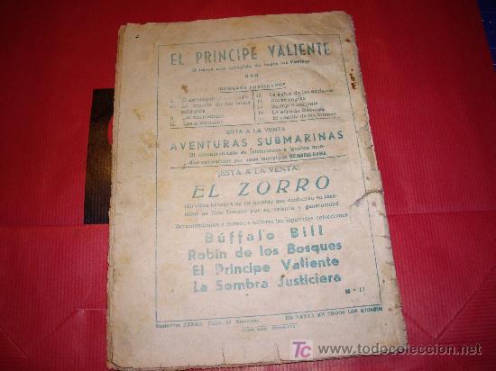 Tebeos: PRINCIPE VALIENTE AVENTURAS FERMA Nº 17 ORIGINAL - Foto 2 - 27566555