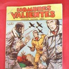 Tebeos: HOMBRES VALIENTES , TOMMY BATALLA N. 21 , EDITORIAL FERMA. Lote 18542716