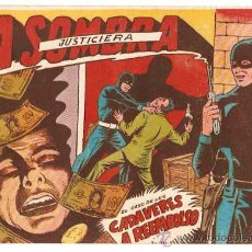 Tebeos: LA SOMBRA JUSTICIERA Nº 2-- ORIGINAL FERMA 1954. Lote 21186283