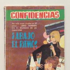 Tebeos: CONFIDENCIAS. ¡ABAJO EL RITMO!. FERMA 1962.. Lote 20604985
