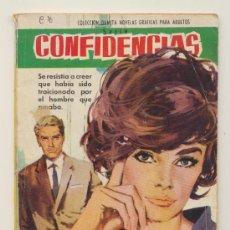Tebeos: CONFIDENCIAS Nº 302. FERMA 1962.. Lote 20605015