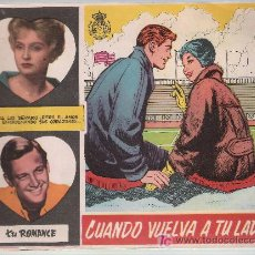 Tebeos: TU ROMANCE Nº 13. FERMA 1959. .. Lote 20829923
