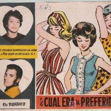 Tebeos: TU ROMANCE Nº 48. FERMA 1959. .. Lote 20830003